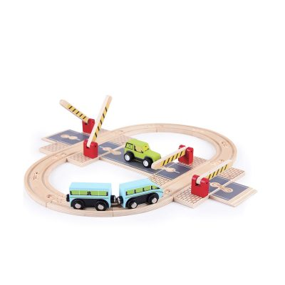 TIGER TRIBE Wooden Road Junction Boxset