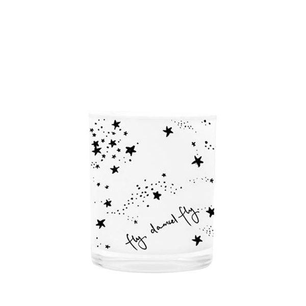 White Fly Damsel Fly Mini Candle