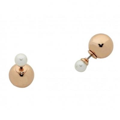 Cornelia Rose Gold Earrings