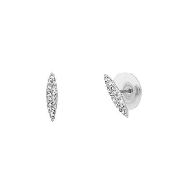 LIBERTE Silver Carter Earrings