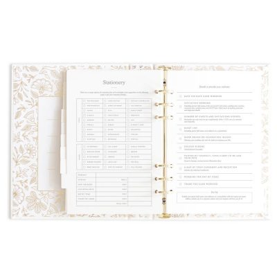 stationery planning for a wedding