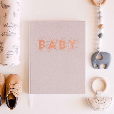 Girls Blush Baby Book