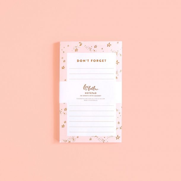 don't forget note pad