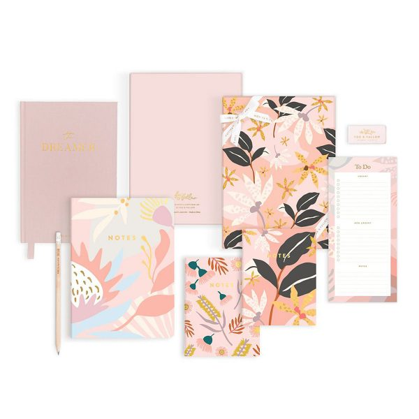FOX & FALLOW Orchid Premium Stationery Gift Set