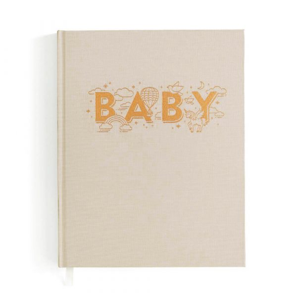Girls Fawn Baby Book