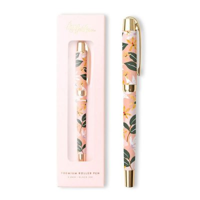 Orchid Roller Pen with packaging
