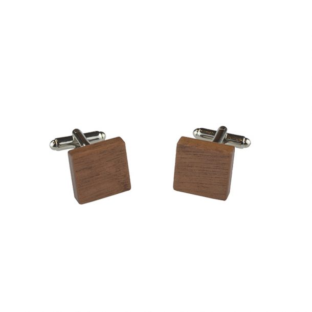 Pink Banksia Wooden Bow Tie Gift Box - Cufflinks