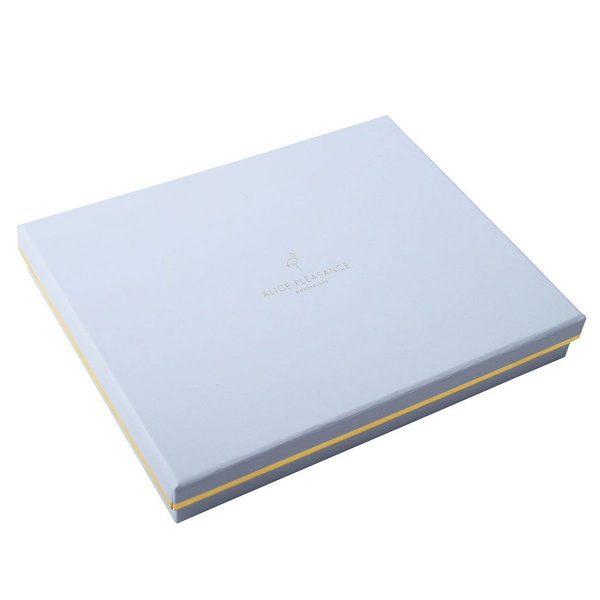 EVERY OTHER WAY Blush Velvet Tassel Clutch Box