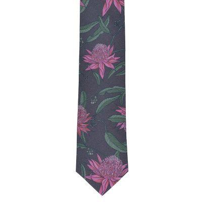 Waratah Cotton Tie