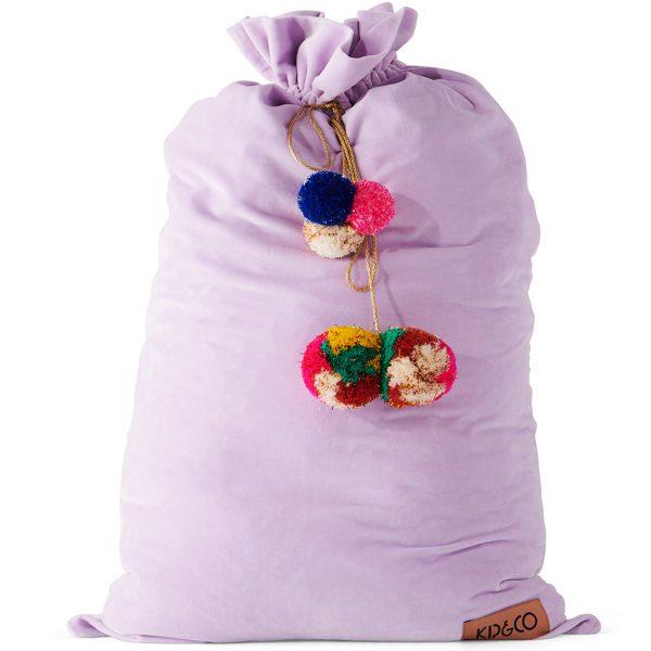 Kip&Co Lavender Velvet Santa Sack
