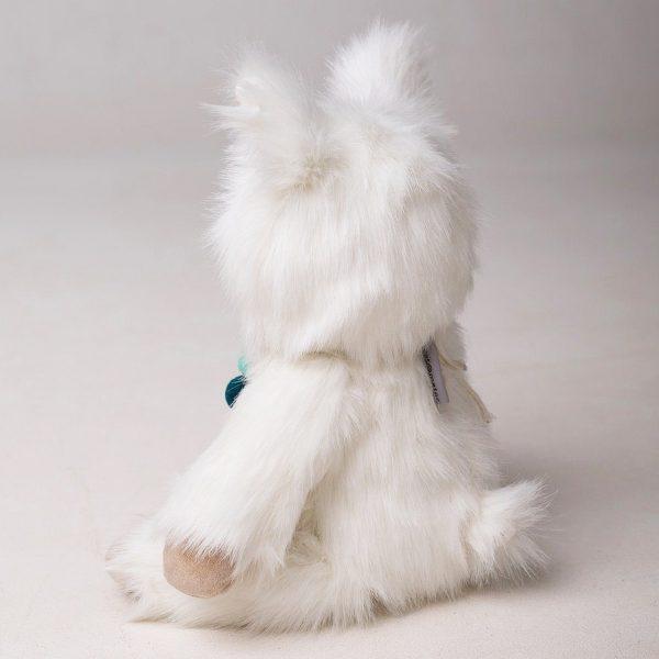 Lucy Llama stuffed toy side view