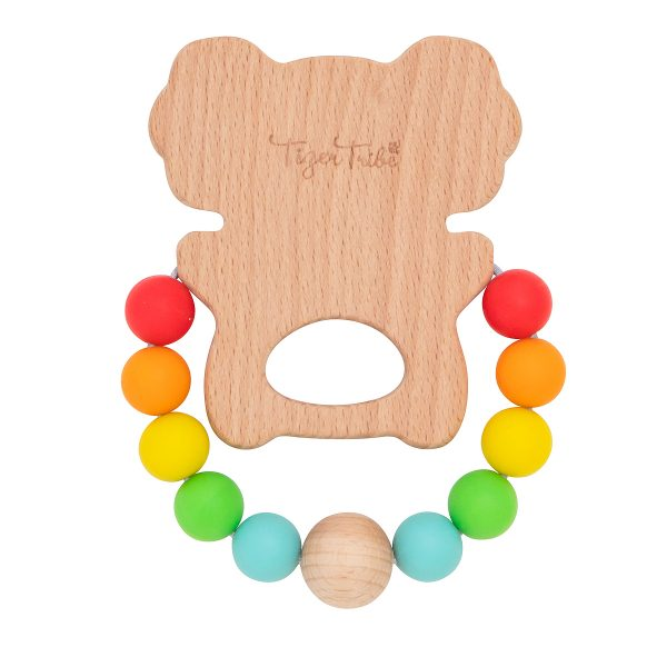TIGER TRIBE Wooden Silicone Koala Teether