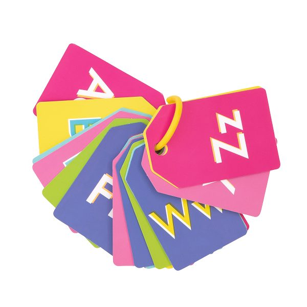 Alphabet Neon Flash Cards