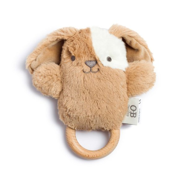 Duke Dog Natural Wooden Teething Ring
