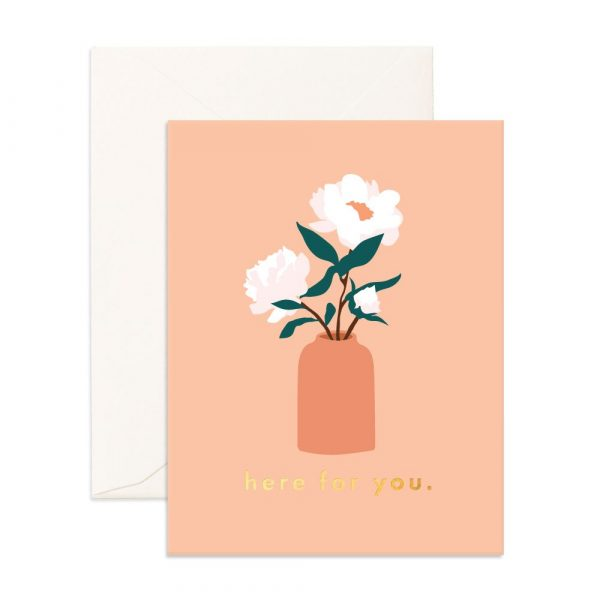 FOX & FALLOW // Here For You Magnolias Greeting Card