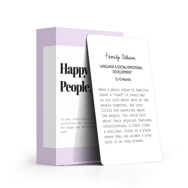 HAPPY LITTLE PEOPLE // The Second Year: Happy Little People Card Deck