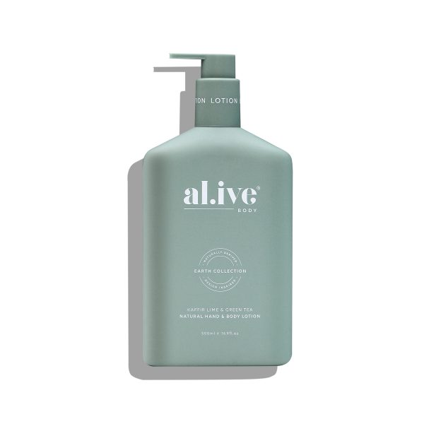 AL.IVE Kaffir Lime and Green Tea Lotion