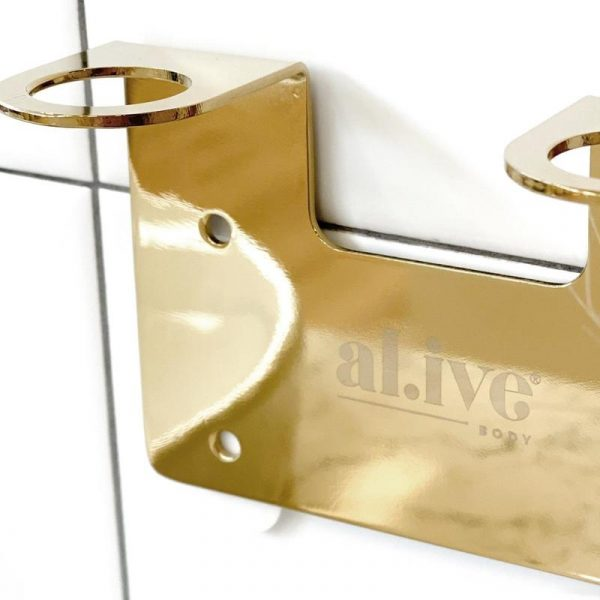 AL.IVE Gold Wall Hanger
