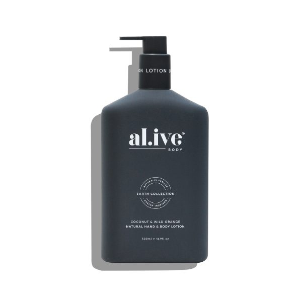 AL.IVE Coconut Wild Orange Lotion