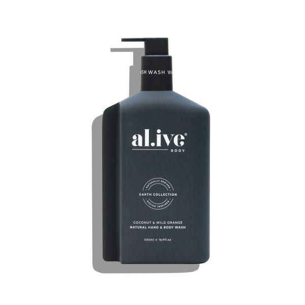 AL.IVE Coconut Wild Orange Hand and Body Wash