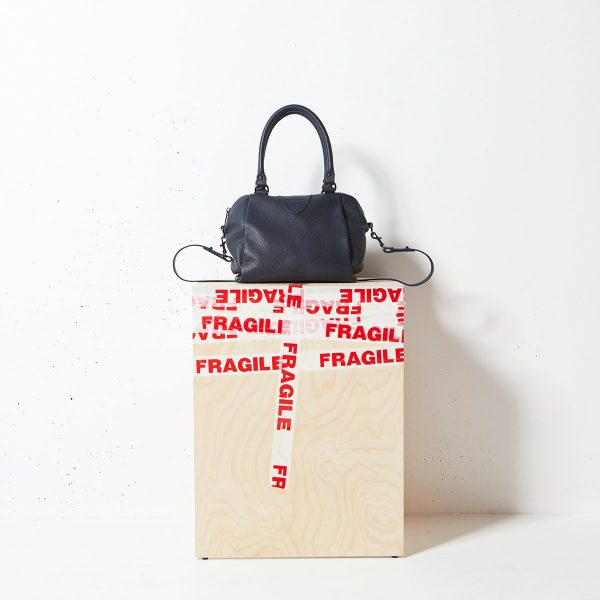 Status Anxiety Navy Blue Force of Being Bag