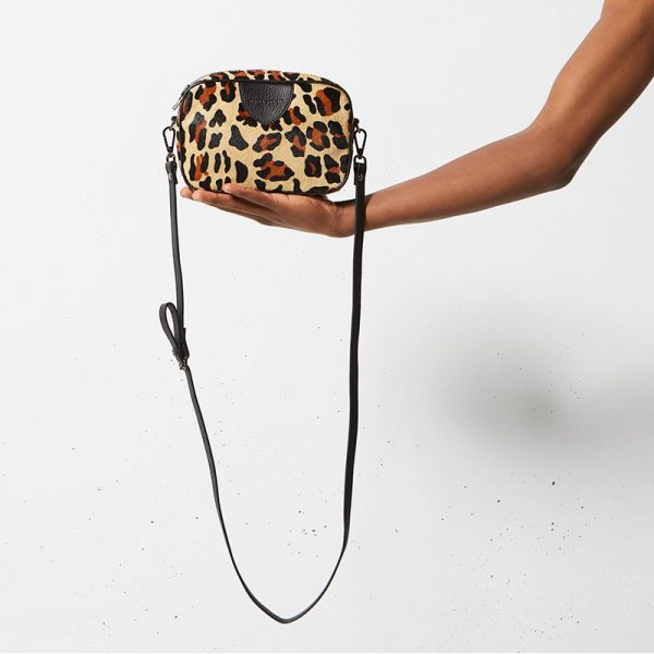 Status Anxiety Leopard Plunder Bag