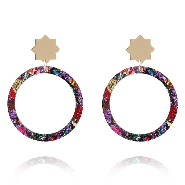 Kaleidoscope Soul Star Earrings