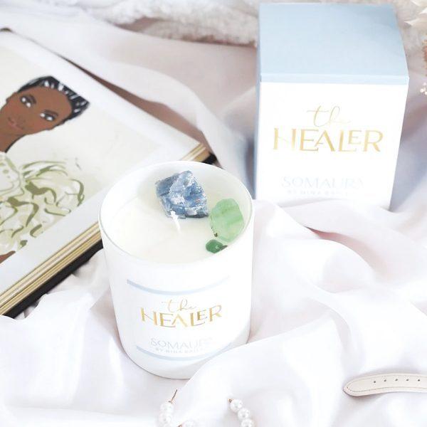 NINA BAILEY // The Healer Crystal Candle