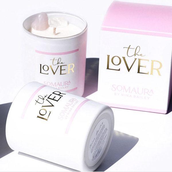 NINA BAILEY // The Lover Crystal Candle