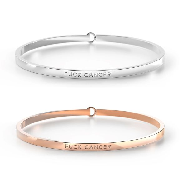 Fuck Cancer Be Bangle
