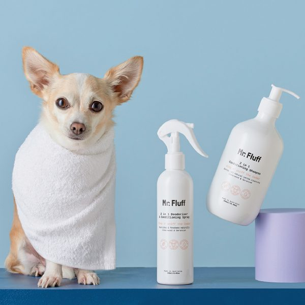Natural Dog Wash Duo