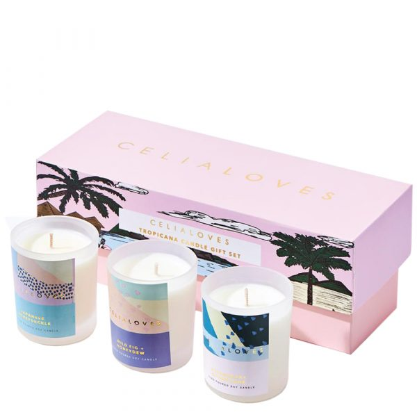 CELIA LOVES Tropicana Candle Gift Box