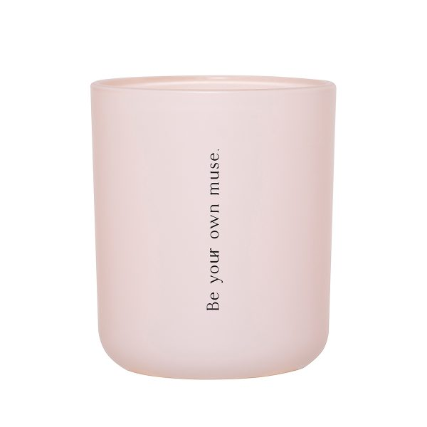 Embrace All That Is You Damselfly Candle