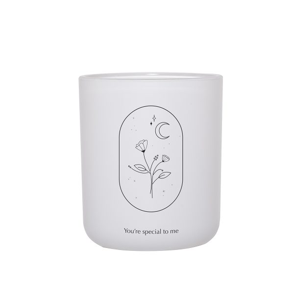 So Much Love For You Damselfly Candle