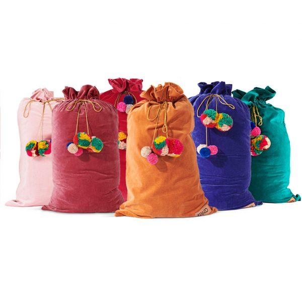 kip and co velvet santa sacks